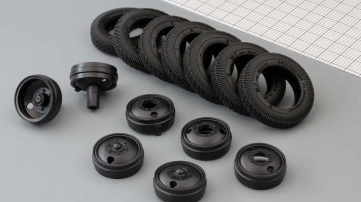Резина, диски для ZIS-5 (резина Я-1/И-63, комплект 7 колес)