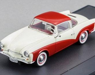 VOLKSWAGEN Rometsch Lawrence Coupe (1959), white / red