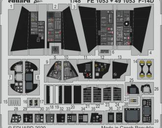 набор фототравления для F-14D