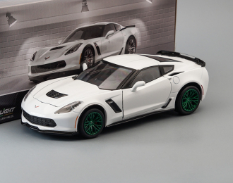 CHEVROLET Corvette Z06 Coupe 2019 Arctic White (Greenlight!)
