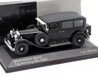MERCEDES-BENZ Typ Nuerburg 460 (W08) 1929 Black