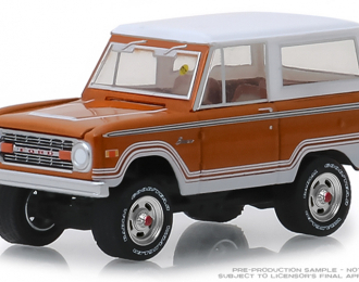 FORD Bronco Ranger 1977 Cinnamon and White (Indianapolis 2018)