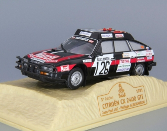CITROEN CX 2400 GTI #126 Jean-Paul Luc - Philippe Alessandri Dakar (1981), black
