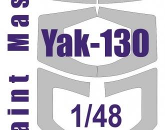 Окрасочная маска на Яk-130 (Звезда)