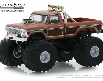 "FORD F-350 Monster Truck ""BFT"" Bigfoot 1978"