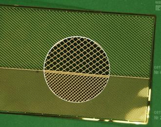 Фототравление Сетки Рабица №45 и №20 в 1:43 (латунь 0.1 мм)