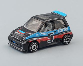 HONDA City Turbo II #5 (1985), black