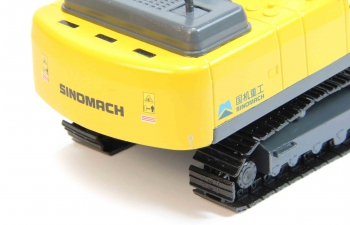 Экскаватор SINOMACH Crawler, yellow