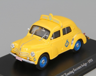 RENAULT 4 CV Touring Secours belge de 1958, серия Renault 4 CV 8, yellow