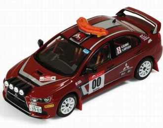 MITSUBISHI Lancer Evo X 00 Rally Japan Safety Car (H.Miyoshi - H.Ichino) 2008, цветной