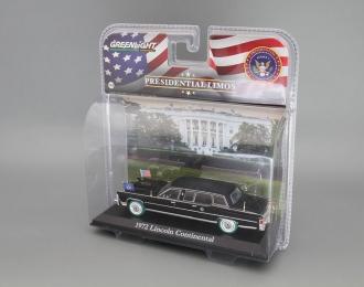 LINCOLN Continental президента США Джеральда Форда (1972), black (Зеленые колёса!)