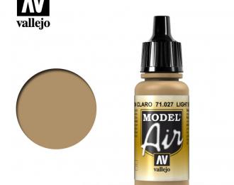 Краска акриловая `Model Air`Светло-коричневый /Light Brown