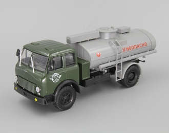 "МАЗ АЦ-8 Цистерна ""Огнеопасно"", зеленый / серый"