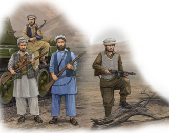 Сборная модель Солдаты  Afghan Rebels