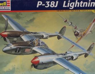 Сборная модель P-38J Lightning