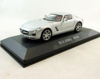 MERCEDES-BENZ SLS AMG (2010), Mercedes-Benz Offizielle Modell-Sammlung 34, silver