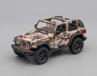 JEEP Wrangler Open (2018), camouflage brown