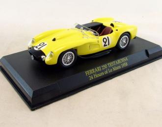 FERRARI 250 Testarossa #21 (1958), Ferrari Collection 68, желтый