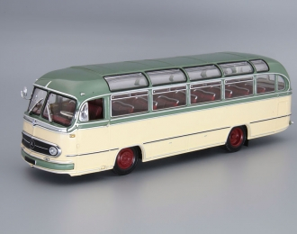 MERCEDES-BENZ O 321 H Bus (1957), green / cream
