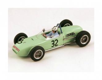 LOTUS 18, 32, Monaco GP 1961 Cliff Allison (FI), green