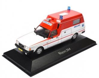 """VOLVO 264GL """"Dutch Ambulance"""" (1974), white / red"""