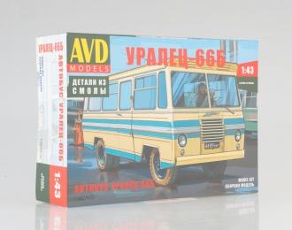 Сборная модель Автобус Уралец-66Б