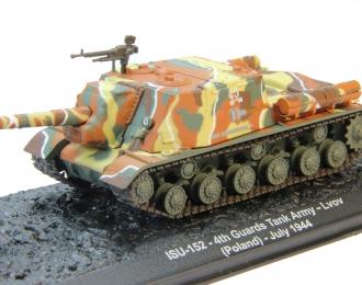 ISU-152 4th Guards Tank Army Lvov (Poland) July (1944), Автомобиль на Службе Спецвыпуск