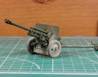 ZIS-3 (76-мм дивизионная пушка) запыленная