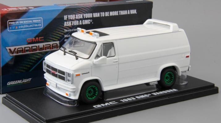GMC Vandura Custom (фургон) 1983 White (Greenlight!)