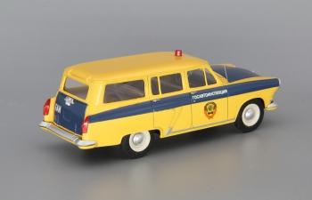 Горький М22 Госавтоинспекция ГАИ, Желтый / синий