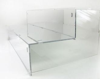 """Подставка под модели """"Лесенка"""", зеркальная 42см"""