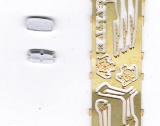 Фототравление Базовый набор для доработки КАМАЗ