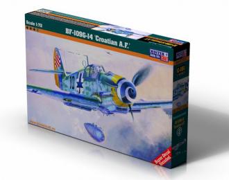 """Сборная модель Самолет BF-109G-14 """"Croatian A.F."""""""
