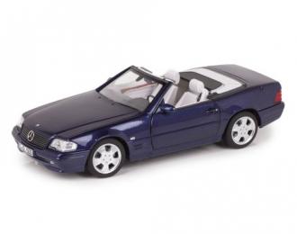 Mercedes-Benz SL500 R129 (W129) рестайлинг 1999 лазурно-синий