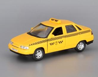 Лада 110 Такси, желтый