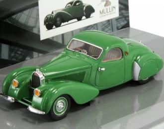 BUGATTI Type 57C coupe 1939 The Mullin Automotive Museum Collection, зеленый
