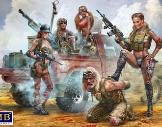 Сборная модель Desert Battle Series Skull Clan - New Amazons