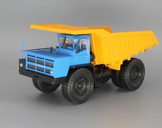 БелАЗ-7548 карьерный-самосвал, синий / оранжевый