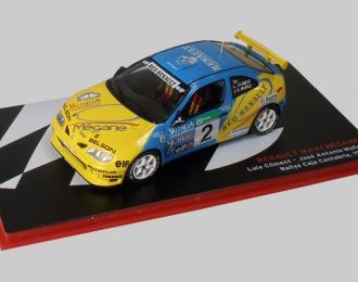 Renault Maxi Megane №2 Rally Caja Cantabria (Luis Climent-Jose Munoz) 1998
