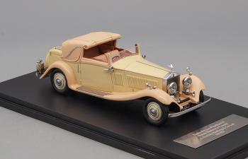 ROLLS ROYCE Phantom II Continental Gurneu Nutting (1934), ivory / beige