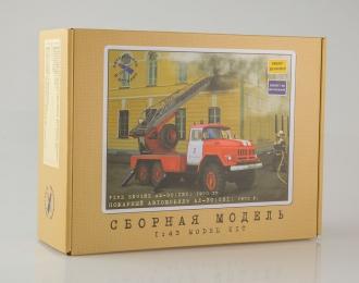Сборная модель Пожарная автолестница АЛ-30 (131), 1970 г.