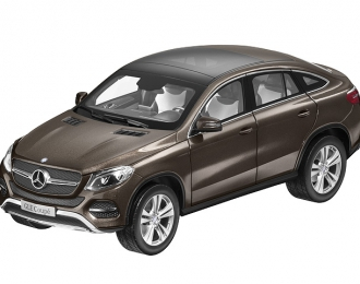MERCEDES-BENZ GLE Coupe C292 (2015), brown