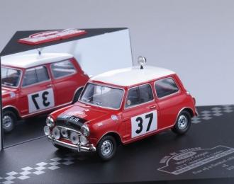 MORRIS Cooper S - #37 P.Hopkirk / H.Liddon 1st Rallye Monte Carlo (1964)