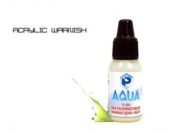 Лак Полуматовый  Aqua