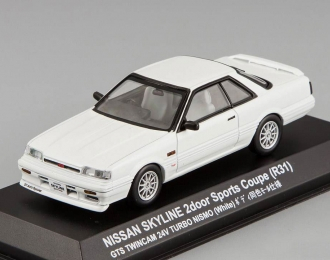 NISSAN Skyline 2000 GTS Coupe (R31) Nismo Wheel, white