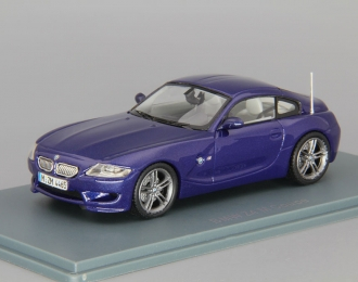 BMW Z4 M Coupe (2009), blue metallic