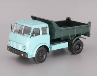 МАЗ-503Б самосвал (1968), голубой / зеленый