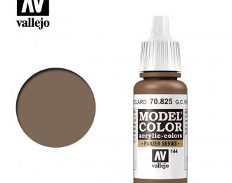 Краска акриловая `Model Color` Нем.защитн.коричн.бледный/German Cam Pale Brown