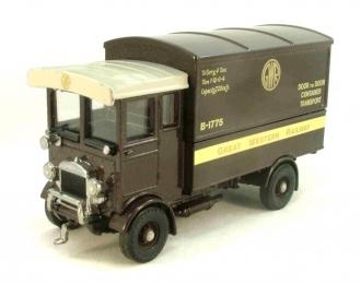"""AEC 508 forward control 5 ton Cabover """"Great Western Railway"""", коричневый"""