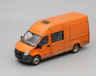 (Конверсия!) ГАЗель Next A32R32 грузопассажирская, оранжевый